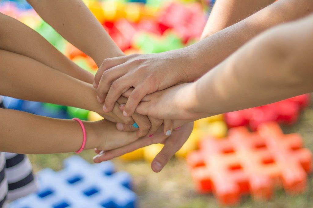 hands, friendship, friends